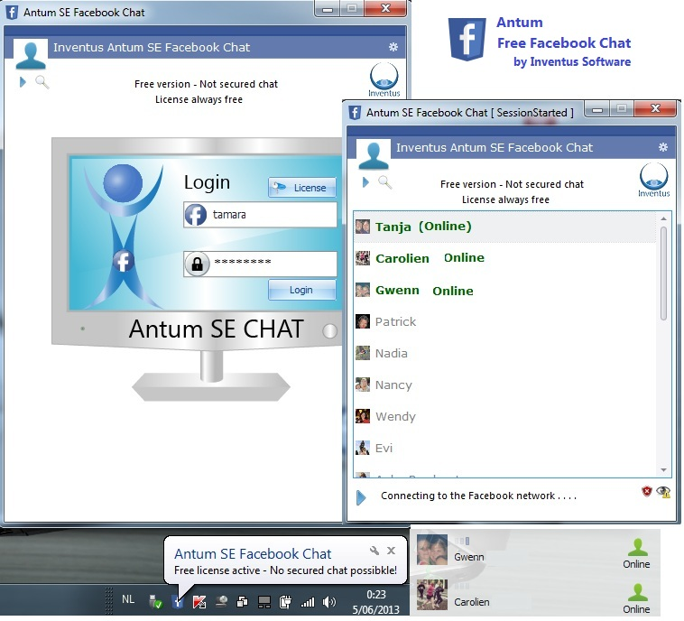 Free Facebook Chat for Desktop