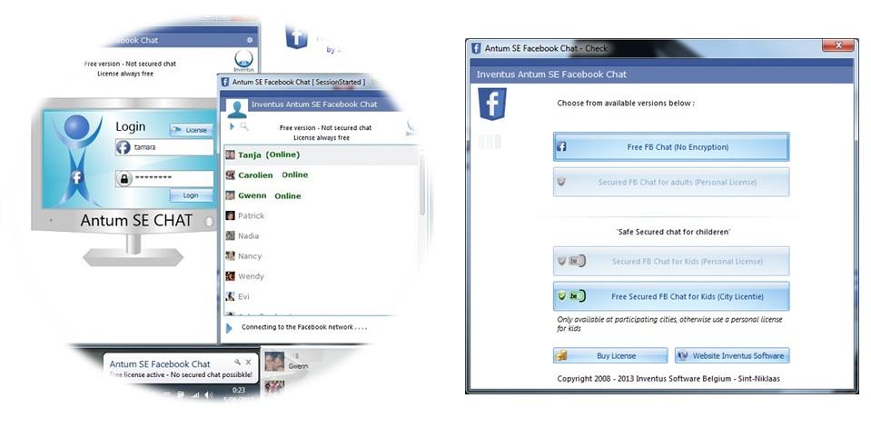 Windows 7 Antum Secured Facebook Chat (Encryption) 1.6.6.6 full